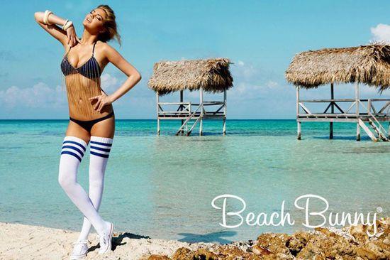 Kate Upton ponownie w kampanii Beach Bunny