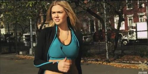 Kate Upton w zabawnej kampanii Zoo York (VIDEO)