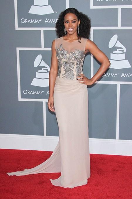 Kelly Rowland Gwiazdy na gali Grammy