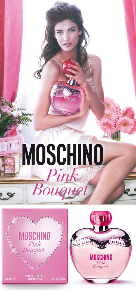 Kendra Spears twarzą Moschino Pink Bouque