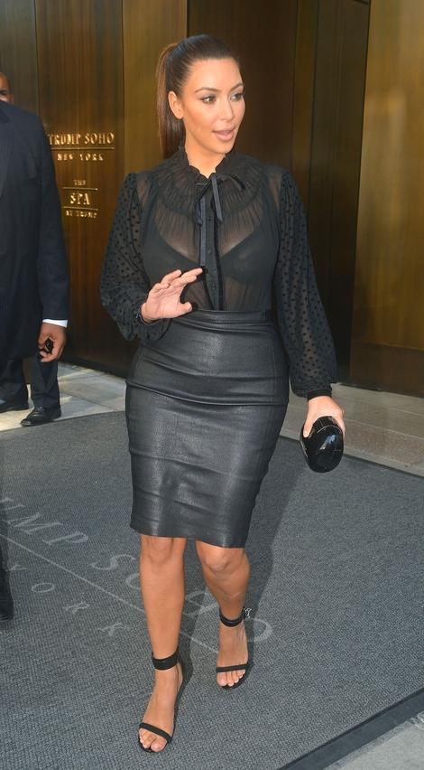 Kim Kardashian tym razem pokazała zbyt wiele (FOTO)