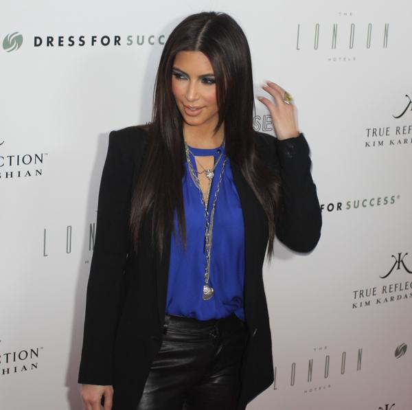 Kim Kardashian promuje swój nowy zapach (FOTO)