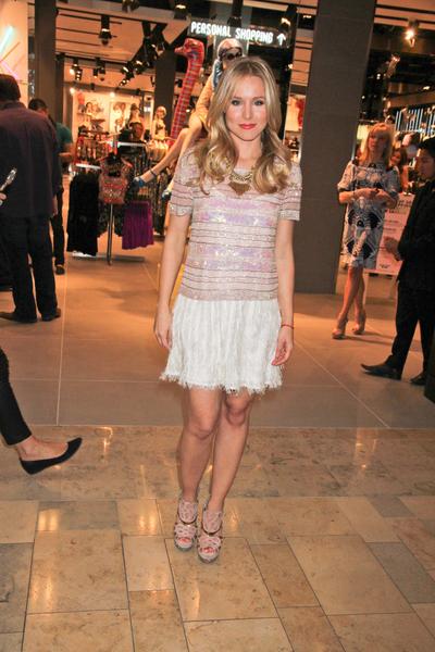 Kristen Bell w sukience z Topshop'u