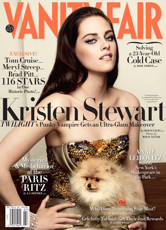 Kristen Stewart i Kate Winslet w Vanity Fair
