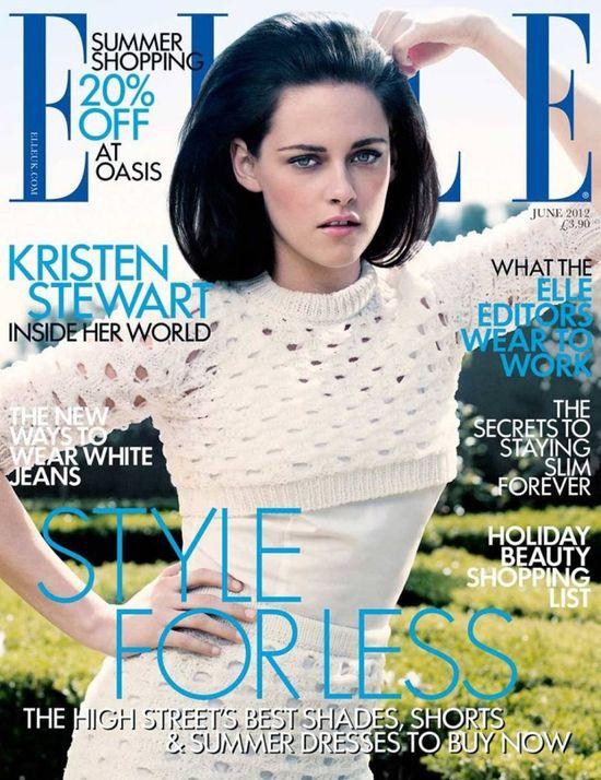 Kristen Stewart na trzech okładkach Elle