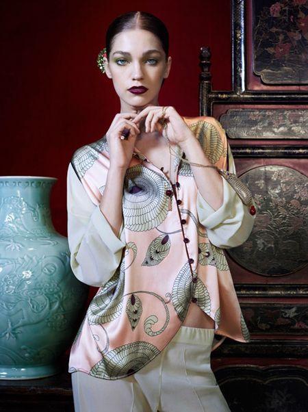 Orientalne zestawy bielizny La Perla (FOTO)
