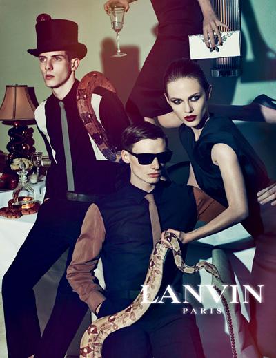 Video reklamowe domu mody Lanvin (VIDEO)