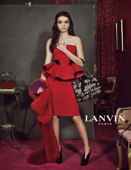 Nowa kampania reklamowa Lanvin (FOTO)