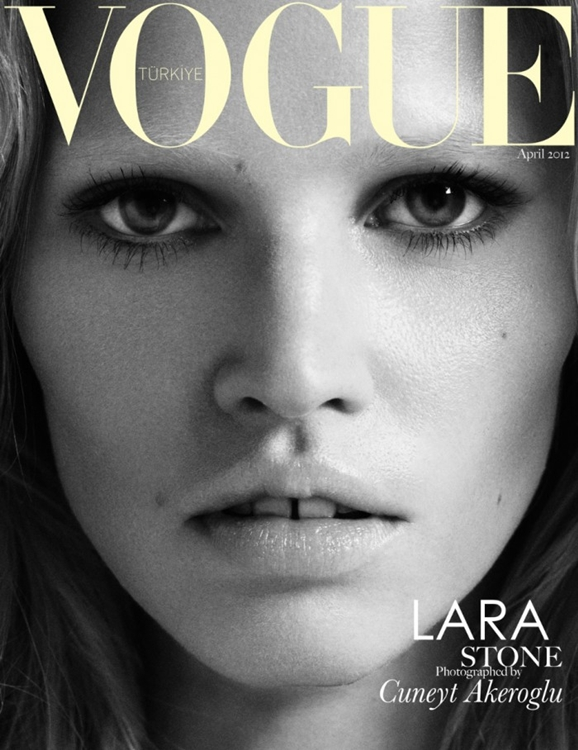 Lara Stone dla Vogue Turkey (FOTO)