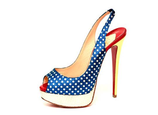 Обувь Christian Louboutin (Кристиан Лабутин) весна-лето 2012.