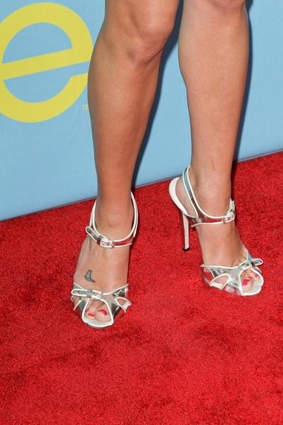 Lea Michele ponownie stawia na biel (FOTO)