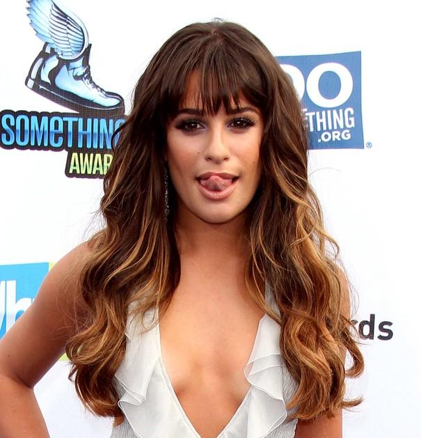Lea Michele w sukni Giorgio Armani