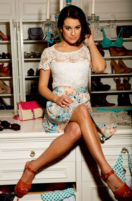 Lea Michele w kampanii marki Candie's (FOTO)