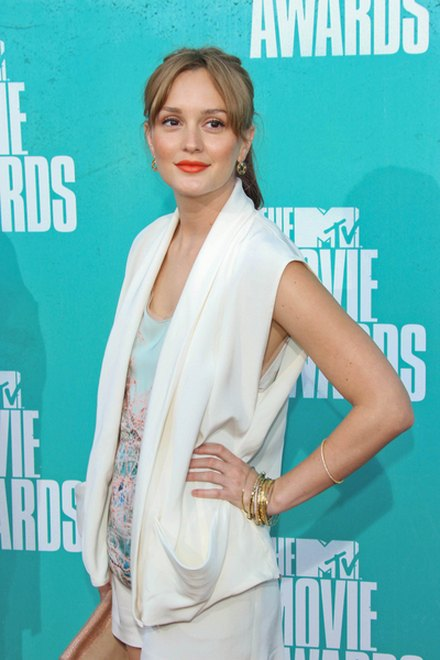 Kreacje na MTV Movie Awards (FOTO)/Leighton Meester