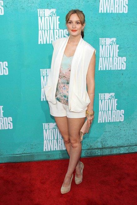 Kreacje na MTV Movie Awards (FOTO)/Leighton Meester