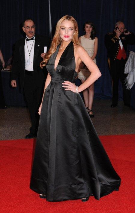 Coroczna impreza gwiazd w Białym Domu/Lindsay Lohan