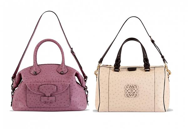 Loewe - kolekcja torebek Pre-Spring 2012