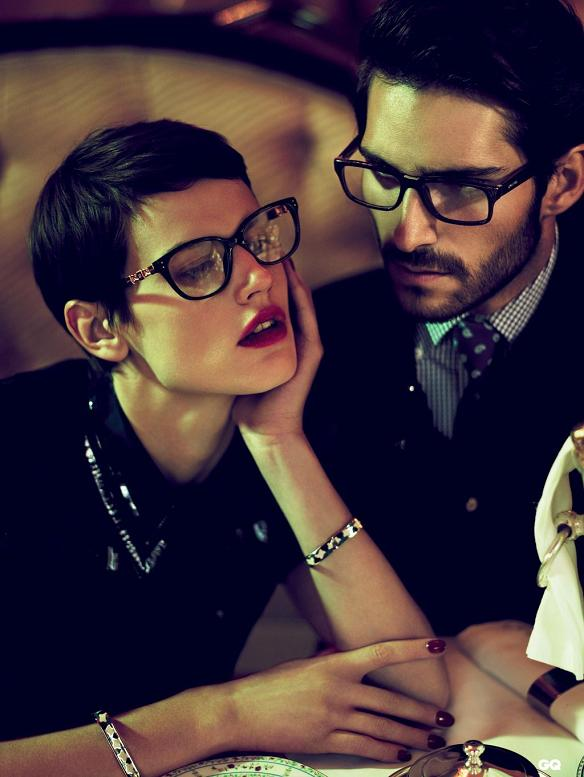 Saskia de Brauw w kampanii reklamowej Loewe
