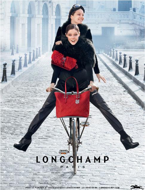 Coco Rocha ponownie dla Longchamp (FOTO)