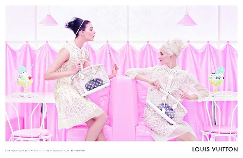 Louis Vuitton - wiosenna kampania reklamowa