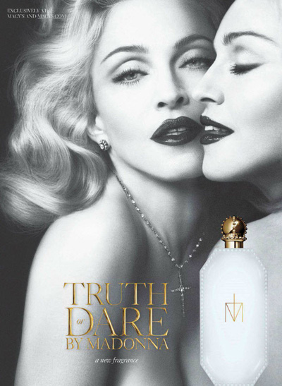 Madonna promuje perfumy Truth or Dare (FOTO)