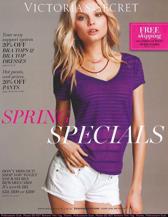 Magda Frąckowiak w majowym katalogu Victoria's Secret