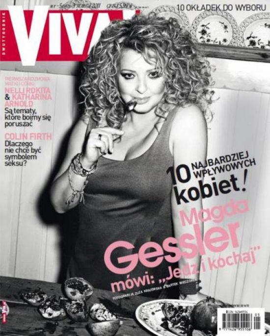 Magda Gessler znowu o swojej diecie