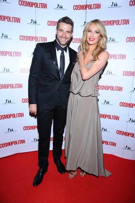 Gwiazdy na imprezie Cosmopolitan (FOTO)/Magda Mielcarz, Maciej Dowbor