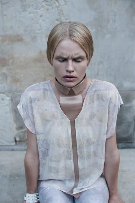 Magda Roman w kampanii marki Herzlich Willkommen