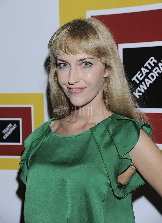 Magda Waligórska w soczystej zieleni (FOTO)