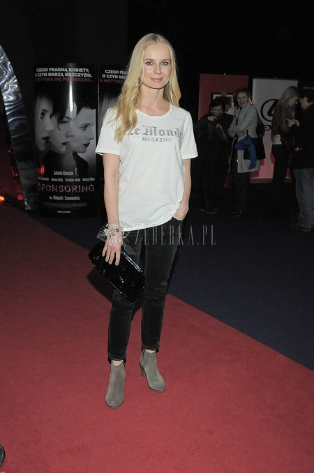 Magdalena Cielecka Premiera filmu Sponsoring