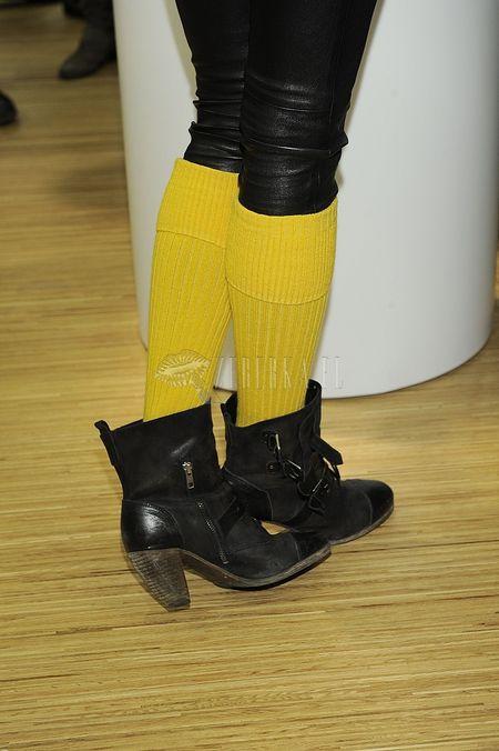 Żółte podkolanówki Mai Sablewskiej (FOTO)