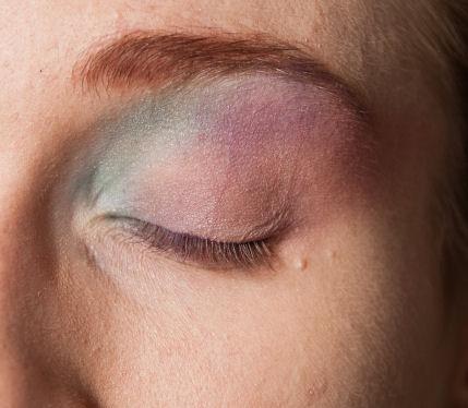 Makijaż w soczystych kolorach