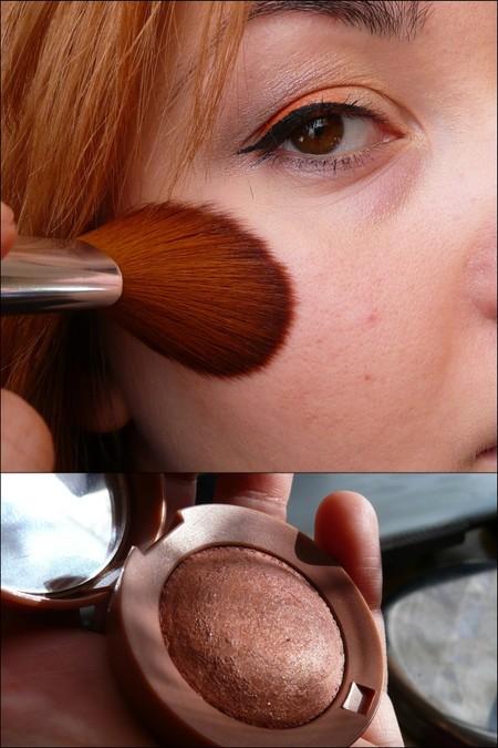 Przyczajona pomarańcza - makijaż oka