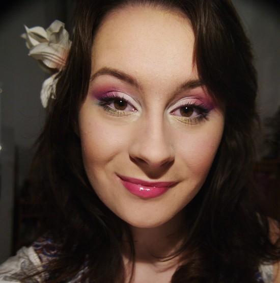 Makijaż w stylu orientalnym