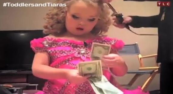 Mała Honey Boo-Boo znowu przeraża (VIDEO)