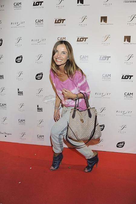 Małgorzata Teodorska w dresie na czerwonym dywanie (FOTO)
