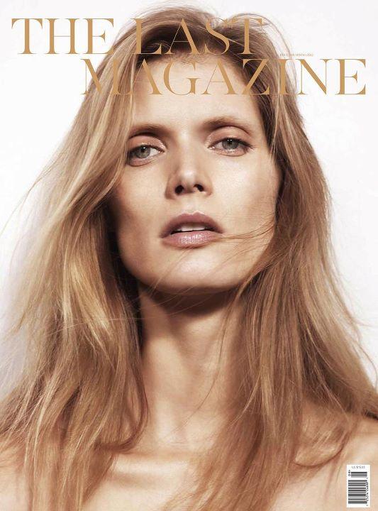 Małgosia Bela na okładce The Last Magazine