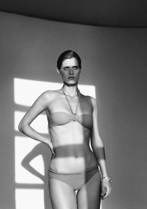 Małgorzata Bela dla domu mody Hermes