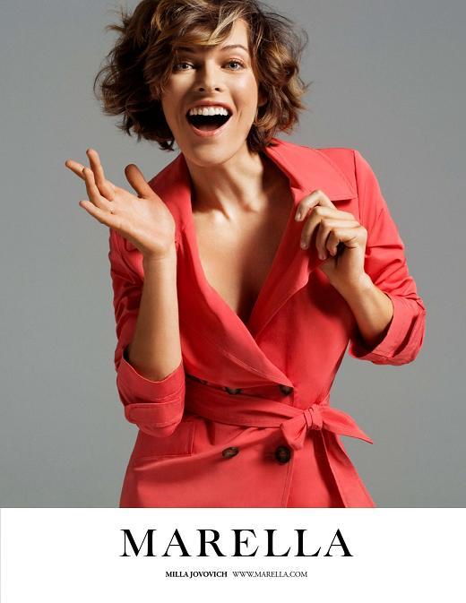 Milla Jovovich w kampanii marki Marella