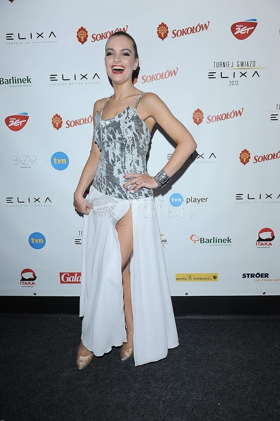 Maria Niklińska na Turnieju Gwiazd Elixa 2012