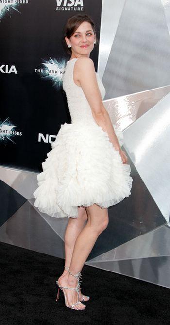 Marion Cotillard w sukience Christiana Diora (FOTO)