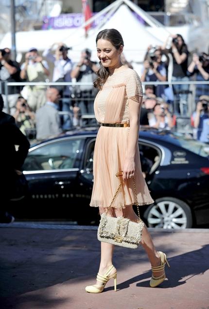 Marion Cotillard w sukience Diora (FOTO)