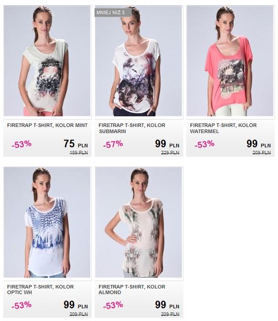 Markowe ubrania i dodatki taniej do 80%