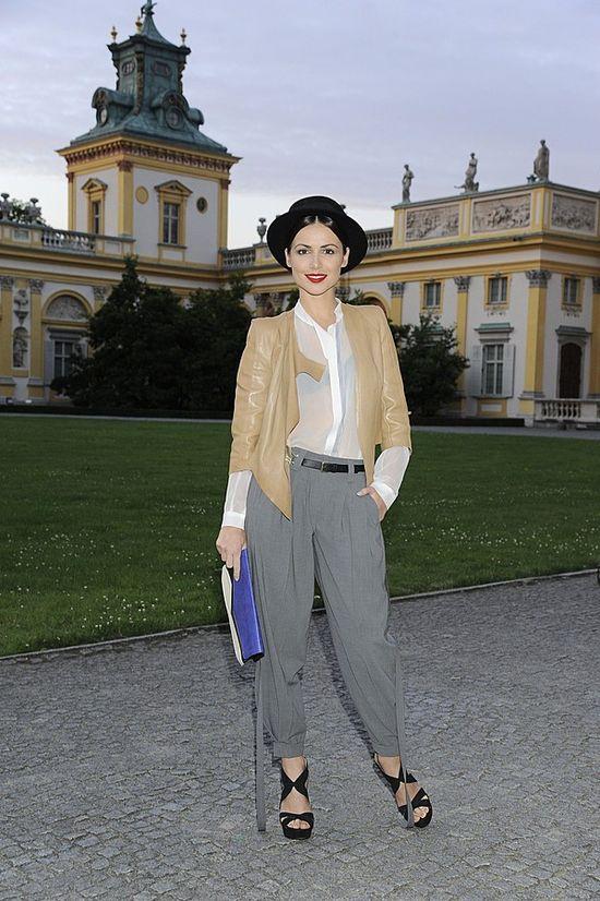 Marta Żmuda-Trzebiatowska bawi się modą (FOTO)