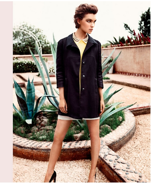 Arizona Muse w wiosennej kampanii Massimo Dutti