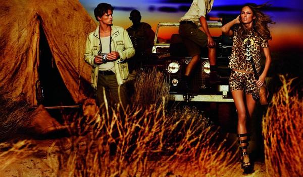 Styl safari oczami Michaela Korsa (FOTO)