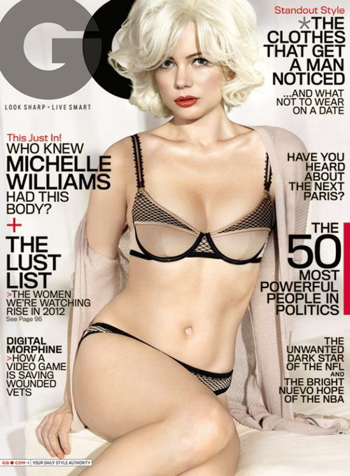 Michelle Williams jako Marilyn Monroe (FOTO)