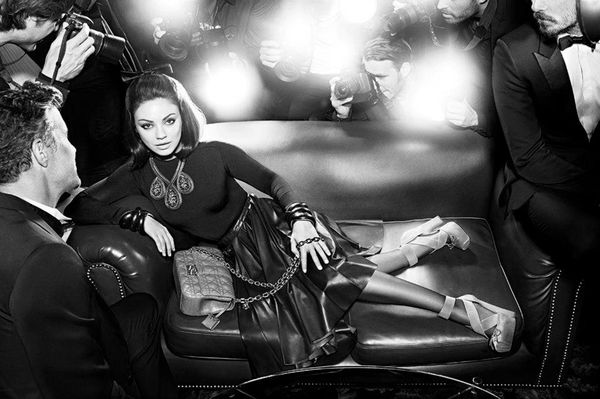 Jeszcze więcej zdjęć Milii Kunis dla Diora (FOTO)