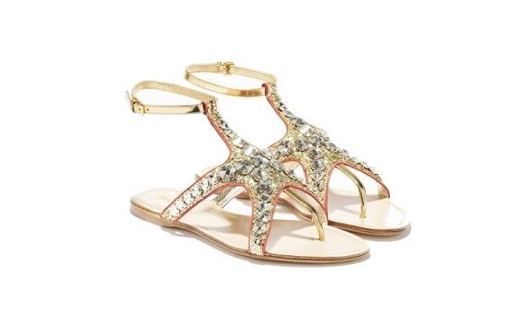 Kryształowa kolekcja letniego obuwia Miu Miu